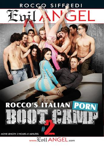 Rocco's Italian Porn Boot Camp 2 from Evil Angel: Rocco Siffredi front cover