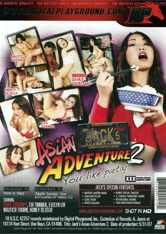 Jack's Asian Adventure 2 from Digital Playground back cover