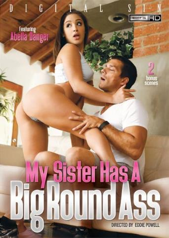 My Sister Has A Big Round Ass from Digital Sin front cover