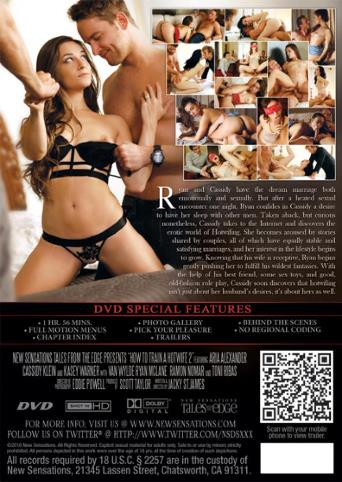 How To Train A Hot Wife 2 from New Sensations back cover