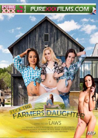 Fuck The Farmers Daughter from Pure XXX Films front cover