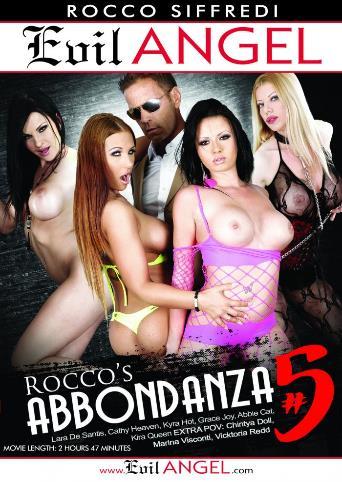 Rocco's Abbondanza 5 from Evil Angel: Rocco Siffredi front cover