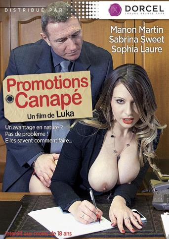 Promotion Canape from Marc Dorcel front cover