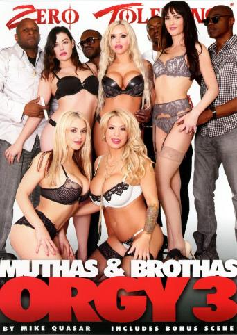 Muthas And Brothas Orgy 3 from Zero Tolerance front cover
