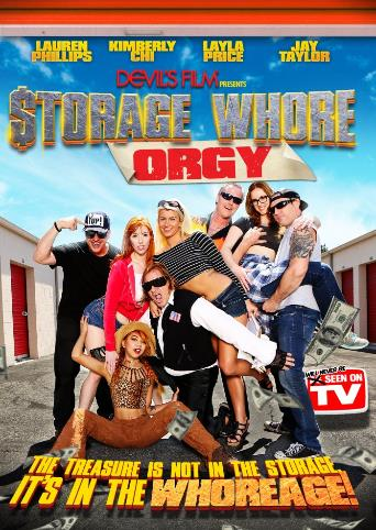 Storage Whore Orgy from Devil's Film front cover