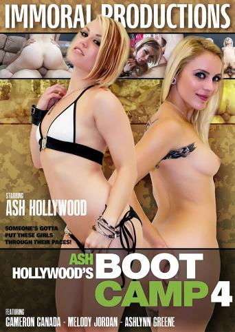 Ash Hollywood's Boot Camp 4 from Immoral Productions front cover