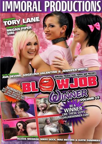 Blowjob Winner 15 from Immoral Productions front cover