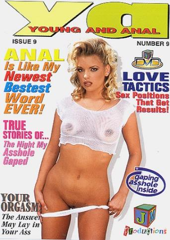 Young And Anal 9 from JM Productions front cover