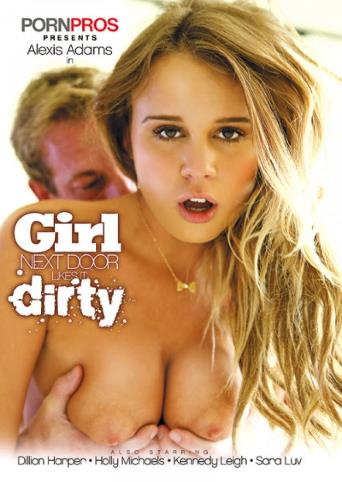 Girl Next Door Likes It Dirty from Porn Pros front cover