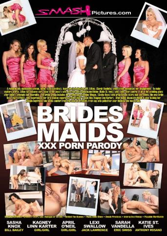 Brides Maids XXX Porn Parody from Smash Pictures back cover
