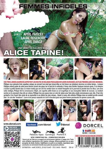 Alice Tapine from Marc Dorcel back cover