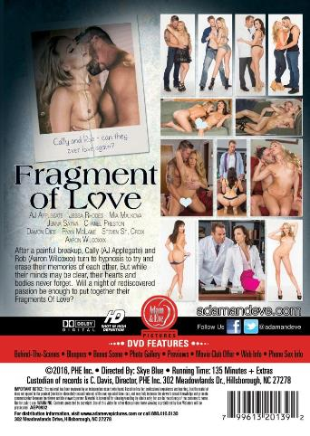 Fragment Of Love from Adam & Eve back cover