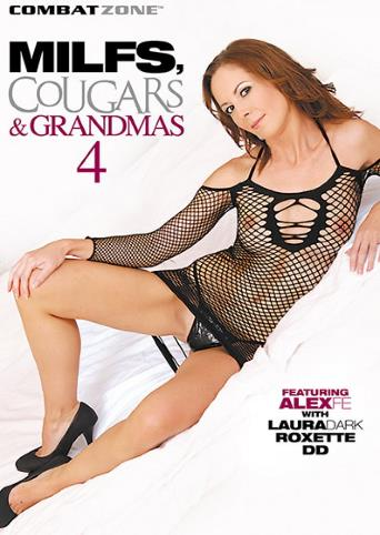 MILFs Cougars And Grandmas 4 from Combat Zone front cover