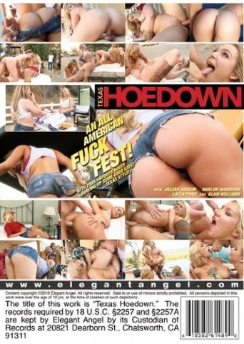 Texas Hoedown from Elegant Angel back cover