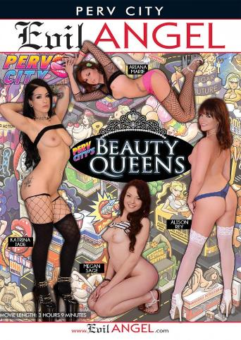 Perv City's Beauty Queens from Evil Angel front cover