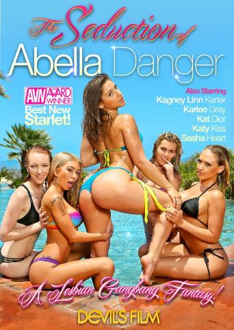 The Seduction Of Abella Danger from Devil's Film front cover