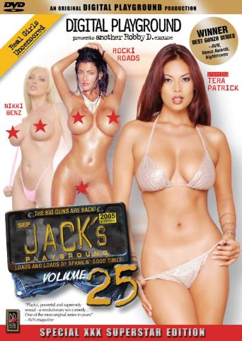 Jack's Playground 25 from Digital Playground front cover