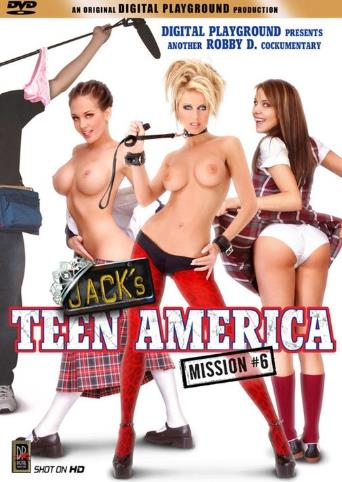Jack's Teen America 6 from Digital Playground front cover