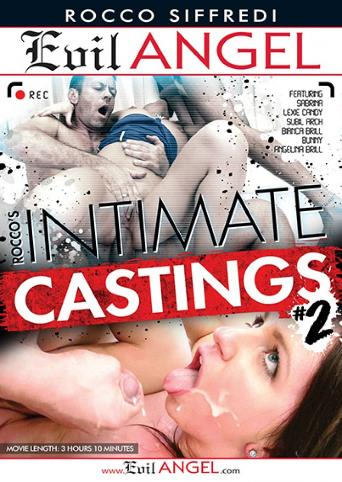 Rocco's Intimate Castings 2 from Evil Angel: Rocco Siffredi front cover