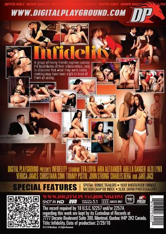 Infidelity from Digital Playground back cover