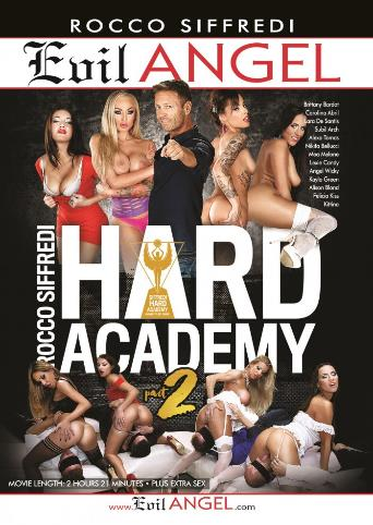 Rocco Siffredi Hard Academy 2 from Evil Angel: Rocco Siffredi front cover