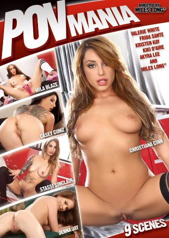 POV Mania from Miles Long Productions front cover