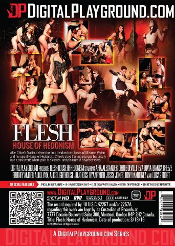 Flesh House Of Hedonism from Digital Playground back cover