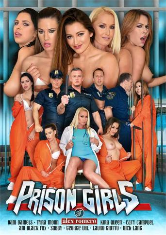 Prison Girls from Alex Romero front cover