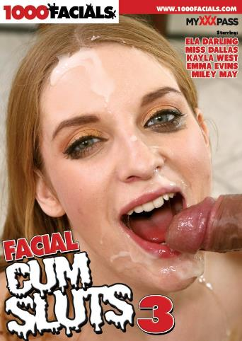 Facial Cum Sluts 3 from 1000 Facials front cover