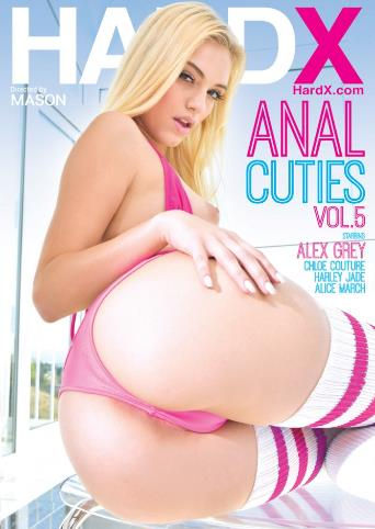 Anal Cuties 5 from Hard X front cover