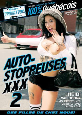 Auto-Stoppeuses XXX 2 from My Quebec Productions front cover