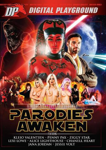 Parodies Awaken from Digital Playground front cover
