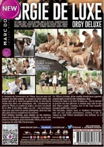 Orgy Deluxe from Marc Dorcel back cover