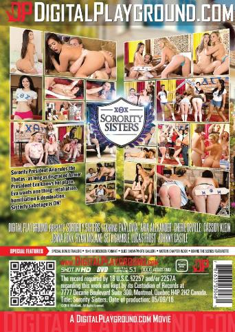 Sorority Sisters from Digital Playground back cover