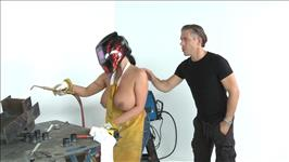 Busty Construction Girls 2 Scene 2