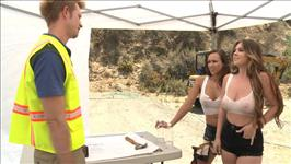 Busty Construction Girls 2 Scene 4