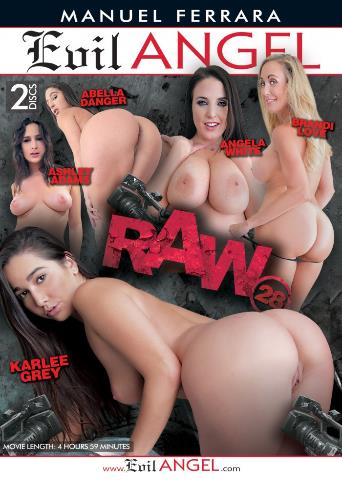 Raw 28 from Evil Angel: Manuel Ferrara front cover