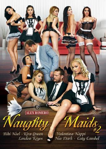 Naughty Maids 2 from Alex Romero front cover