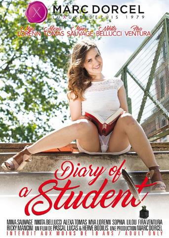 Diary Of A Student from Marc Dorcel front cover