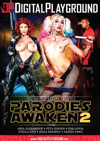 Parodies Awaken 2 from Digital Playground front cover