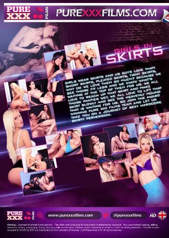 Girls In Skirts from Pure XXX Films back cover