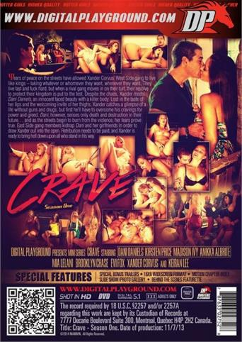 Crave from Digital Playground back cover