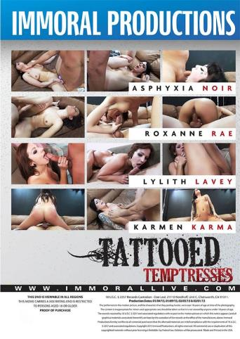 Tattooed Temptresses from Immoral Productions back cover
