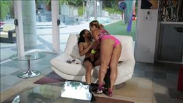 Lesbian Beauties 16 Interracial Scene 4