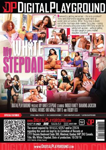 My White Stepdad from Digital Playground back cover