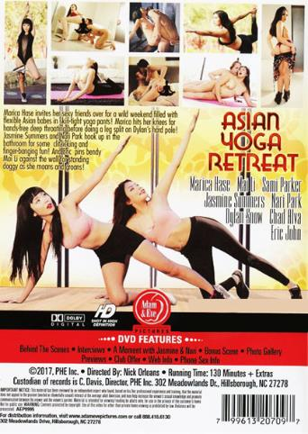 Asian Yoga Retreat from Adam & Eve back cover