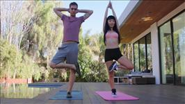Asian Yoga Retreat Scene 1