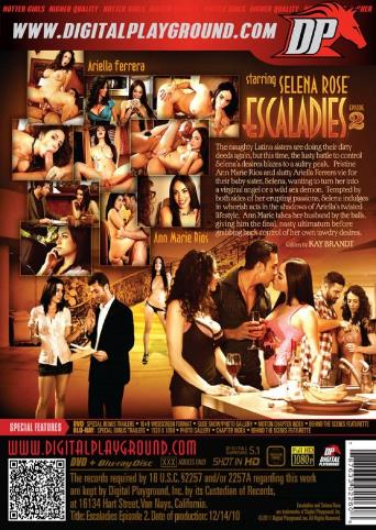 Escaladies 2 from Digital Playground back cover