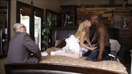 Interracial Wedding Night Cuckold Scene 4