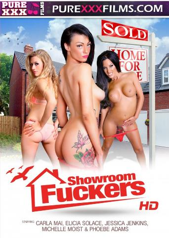 Showroom Fuckers from Pure XXX Films front cover